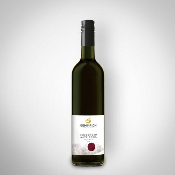 Lemberger Alte Rebe - Weingut und Edelbrennerei Gemmrich