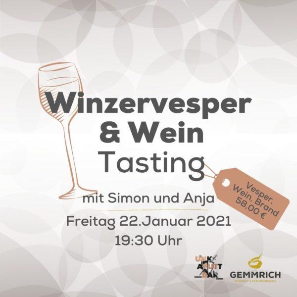 Winzervesper & Wein