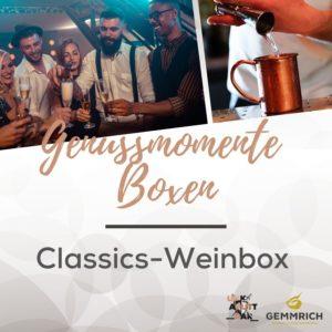 Genussmomente Box | Classics Weinabo | Weingut und Edelbrennerei Gemmrich