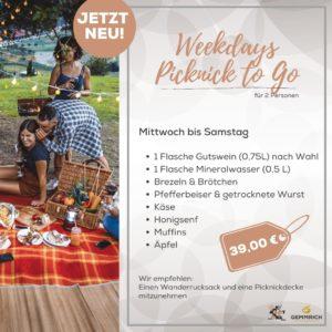 Weekdays Picknick to Go - Weingut und Edelbrennerei Gemmrich